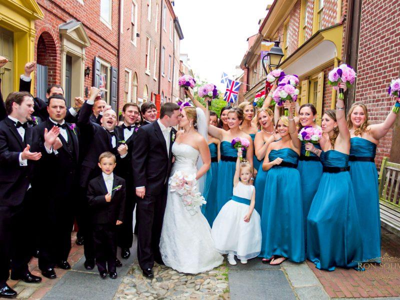 Curtis Center Wedding | Alicia + Robert
