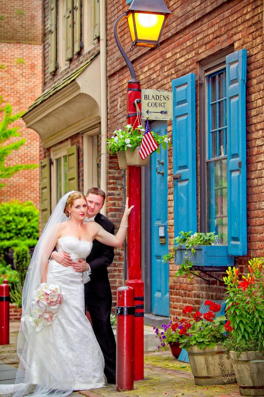 Elfreth's Alley Wedding photos