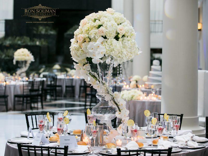 Atrium at Curtis Center Wedding | Alicia + Aaron
