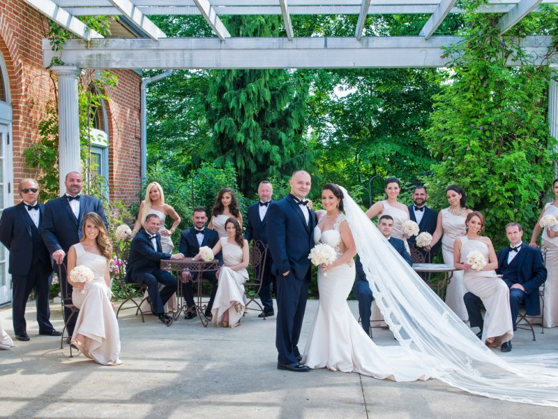 Spring Mill Manor Country Club Wedding | Diana + Vinny