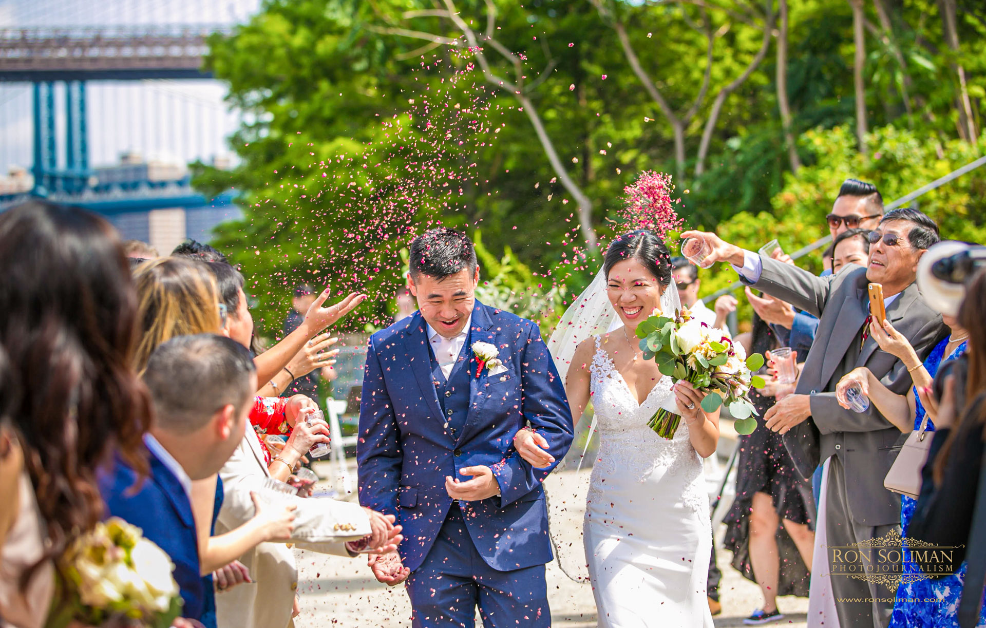 Brooklyn Bridge Park Wedding | Linda + Manny