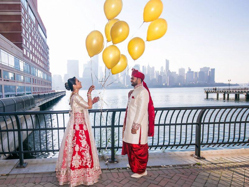 Hyatt Regency Jersey City Wedding | Ami + Dhaval