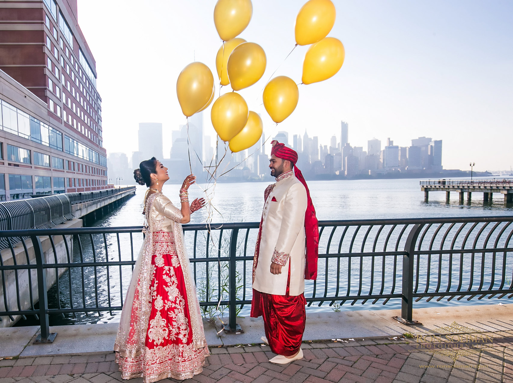 Hyatt Regency Jersey City Wedding | Ami + Dhaval