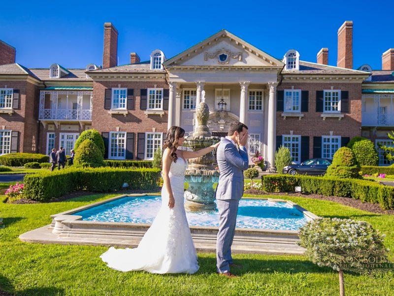Glen Cove Mansion Wedding | Shay + Andreas