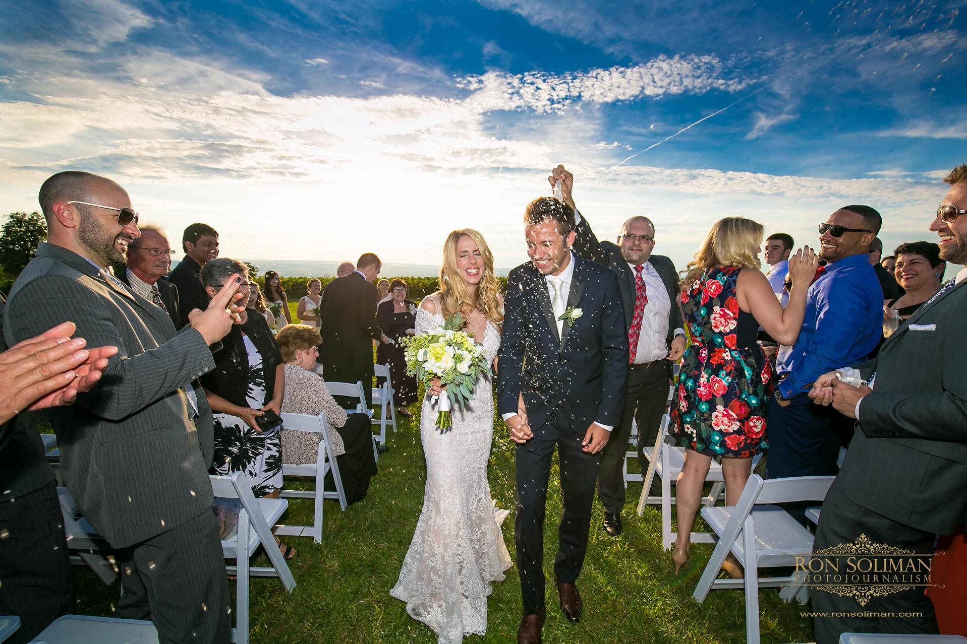 The Ginny Lee at Wagner Vineyards Wedding | Felicia + Luke