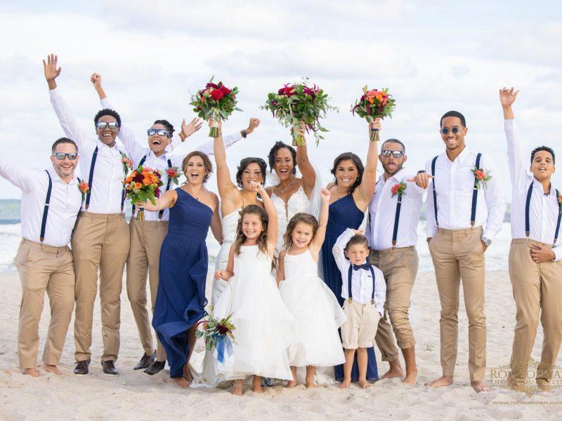 Congratulations to Gia and Telicia! | New Jersey Beach Wedding