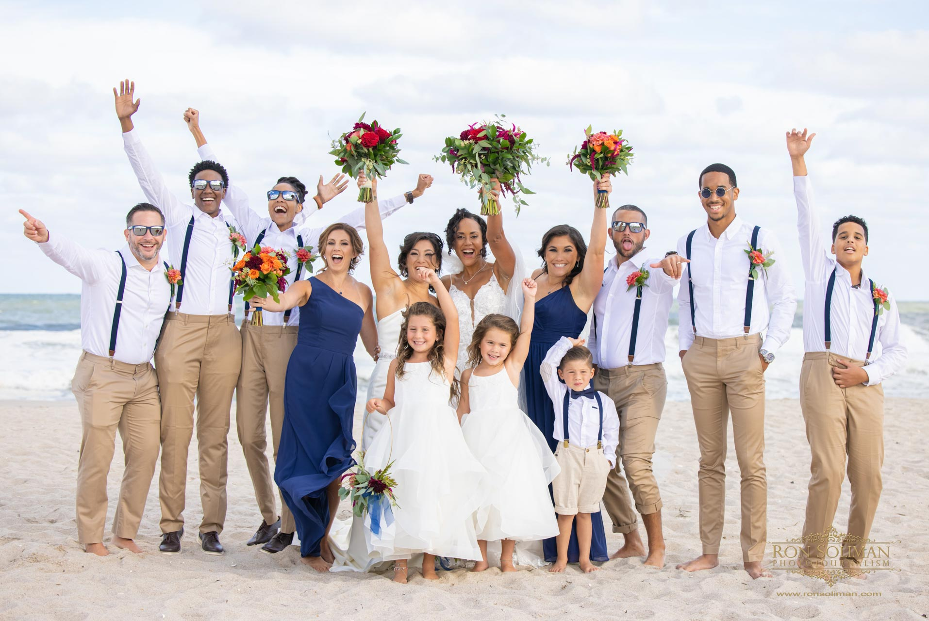 Congratulations to Gia and Telicia! | New Jersey Beach Wedding