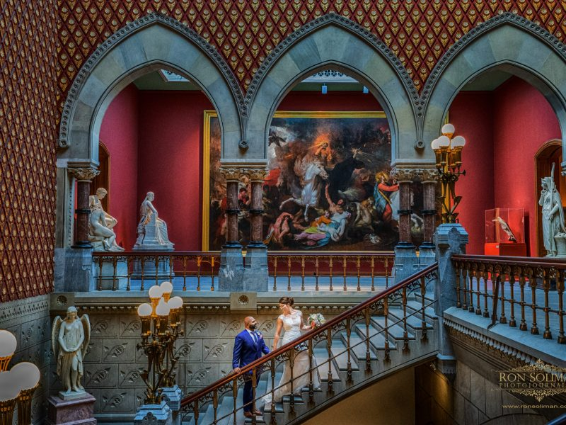Pennsylvania Academy of the Fine Arts PAFA Wedding | Kait + Amit