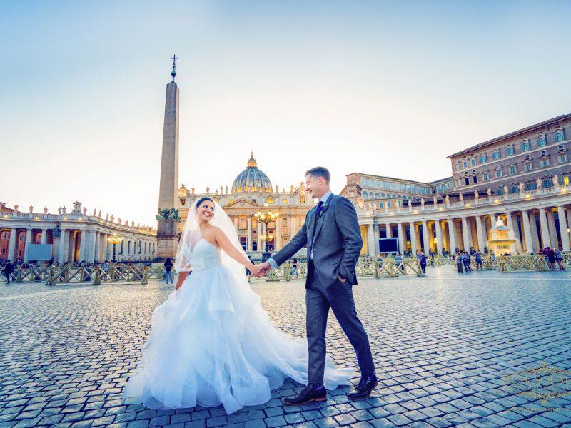Rome Italy Destination Wedding | Kathryn + David
