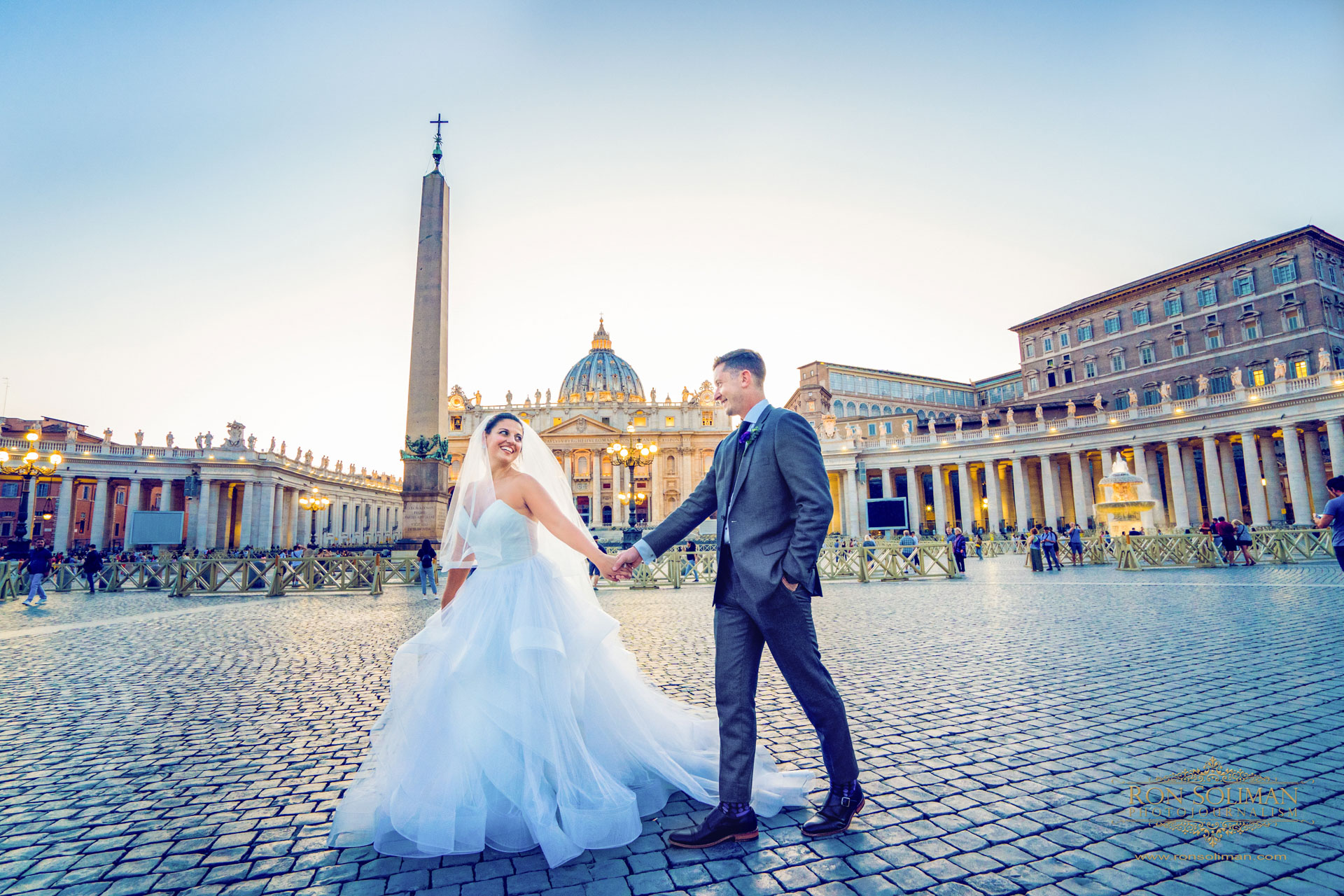 Rome Italy Destination Wedding | Kathryn + David