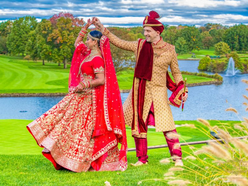 Brooklake Country Club Indian Wedding | Ayushi + Brian