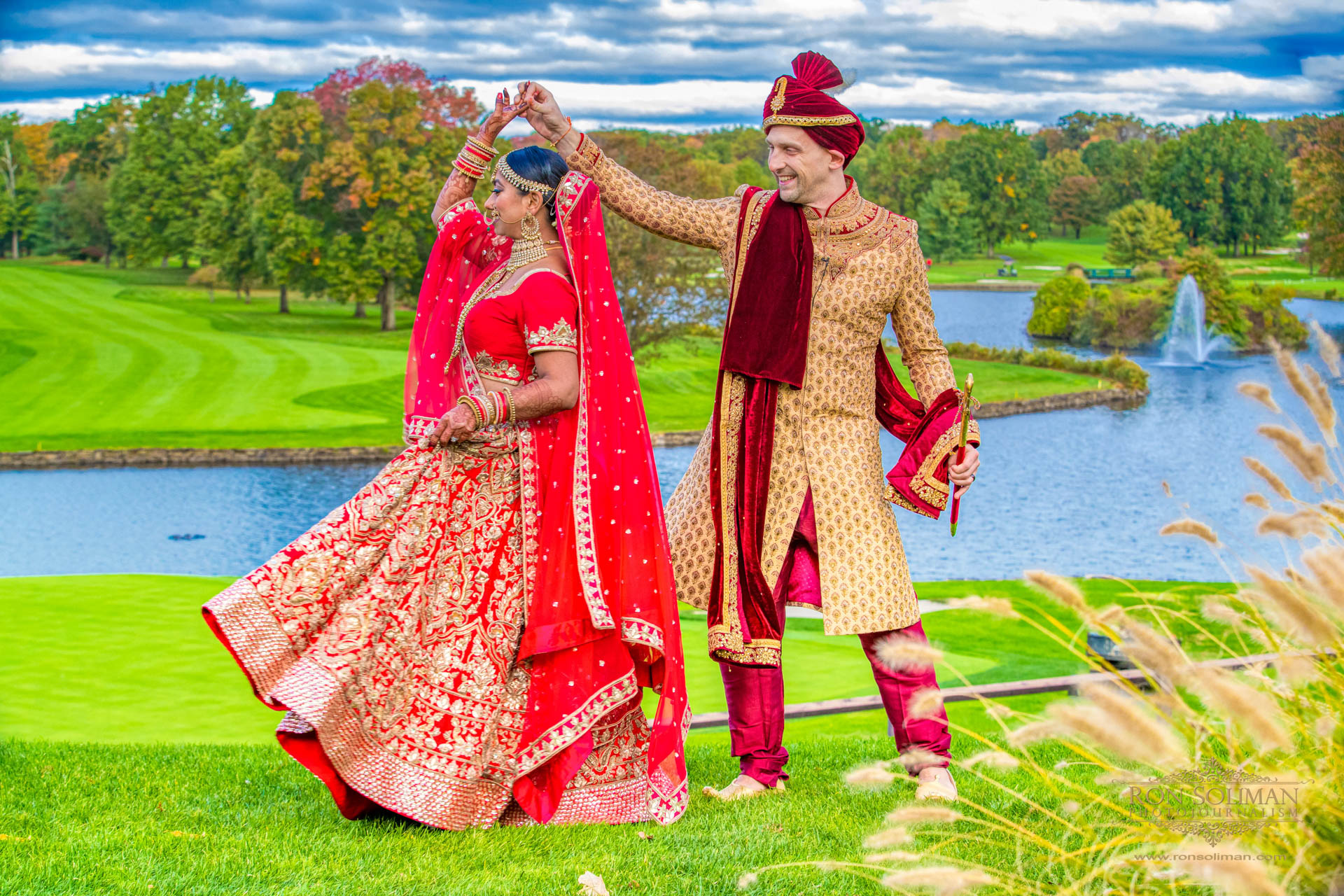 Brooklake Country Club Indian Wedding | Ayushi + Brian
