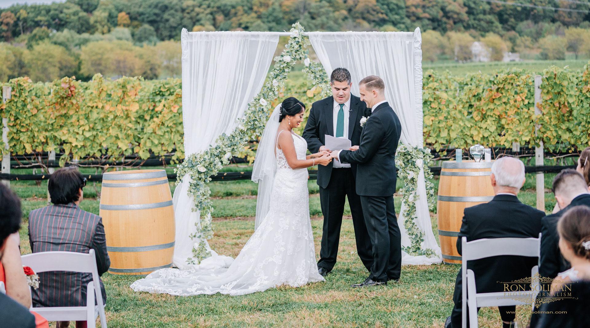 Benaduce Vineyards Wedding | Ayushi + Brian