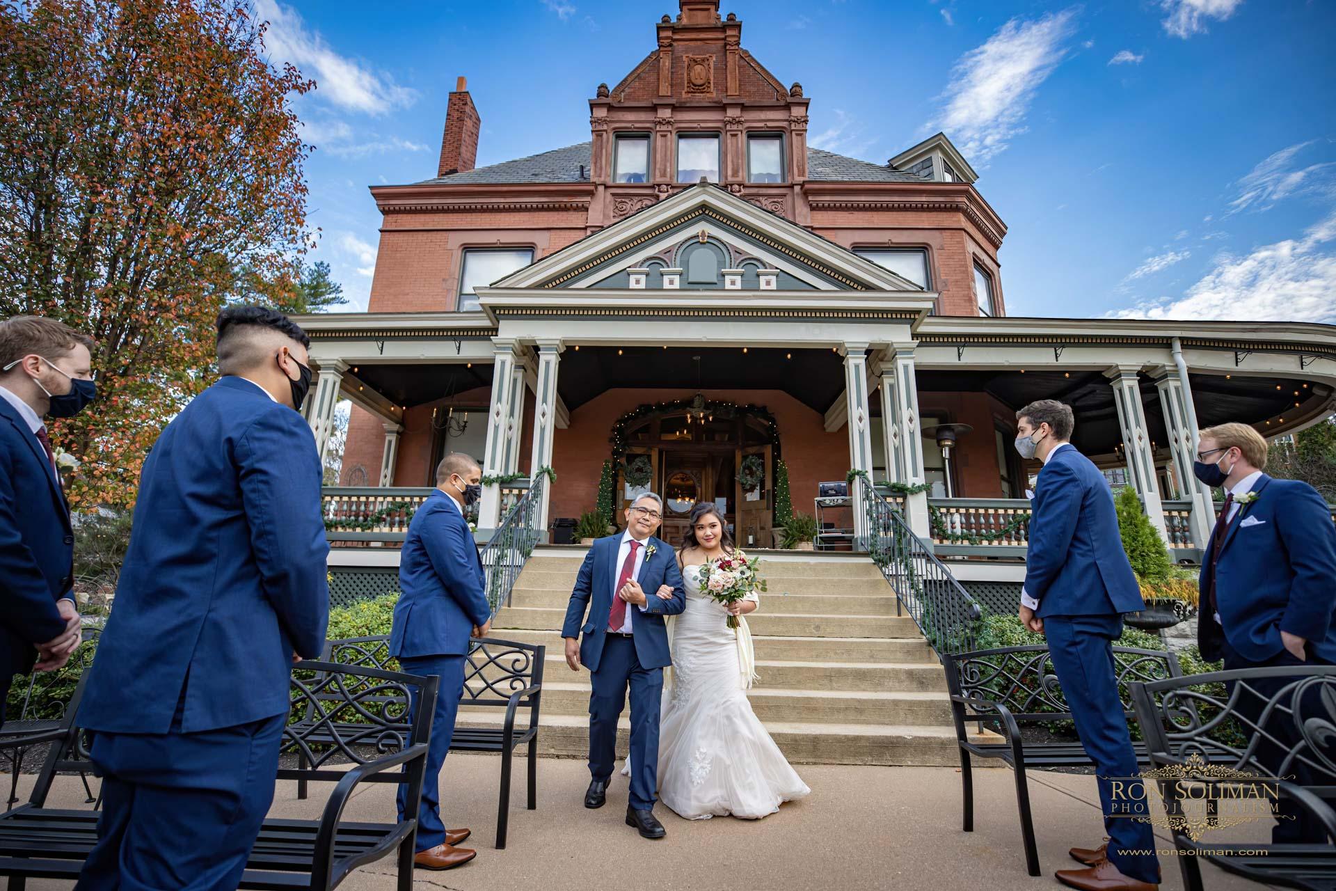Wiedemann Hill Mansion Wedding 17