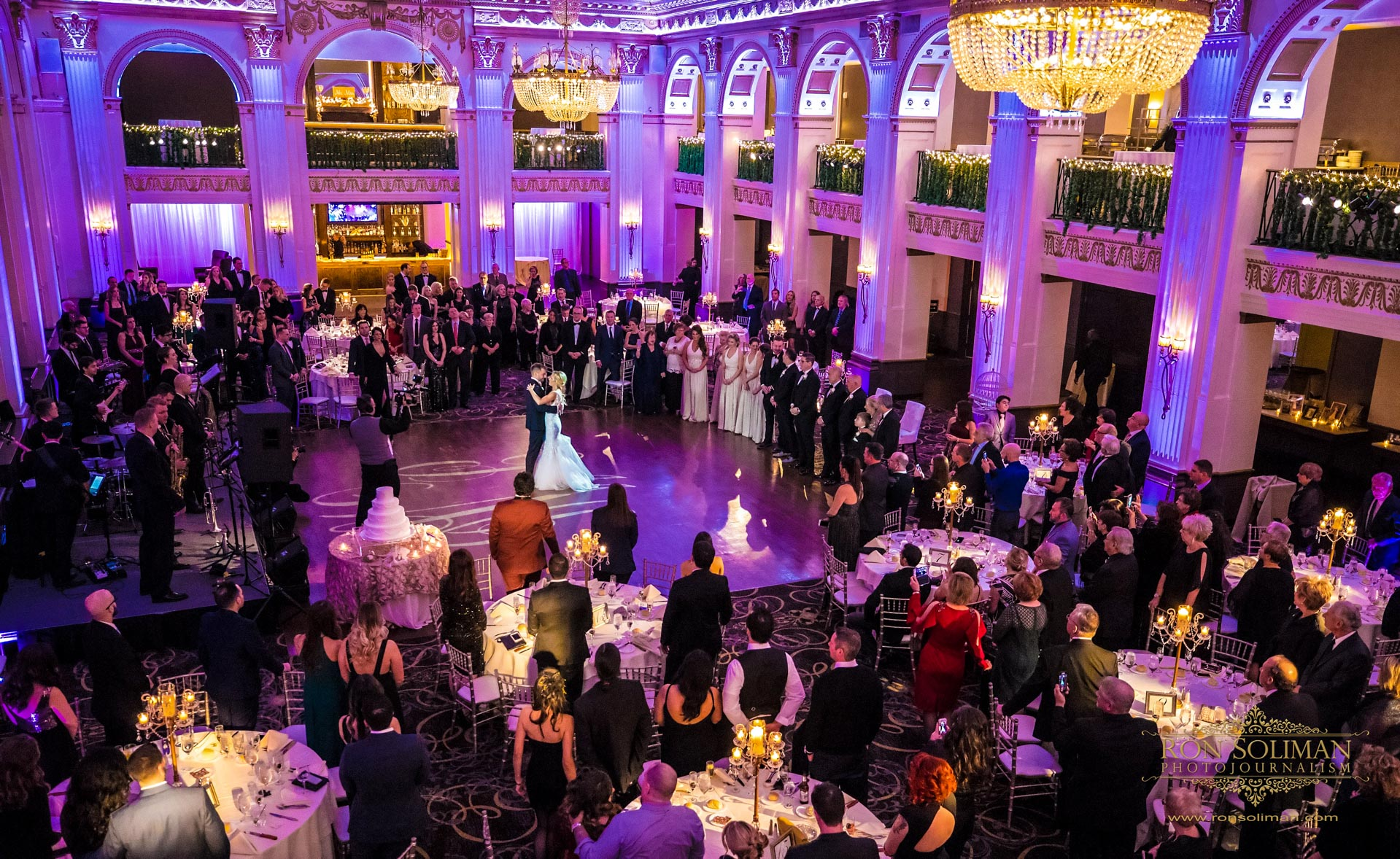 Ballroom at the Ben Wedding | Dianna + Charles