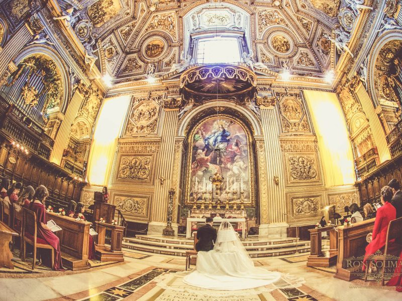 Vatican Wedding | Angela + Paulo