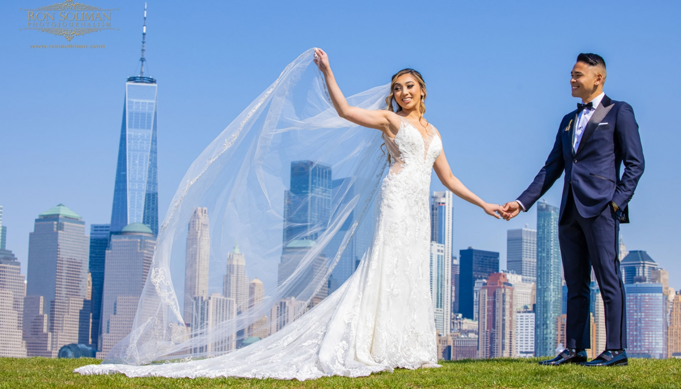 Liberty State Park Wedding photos