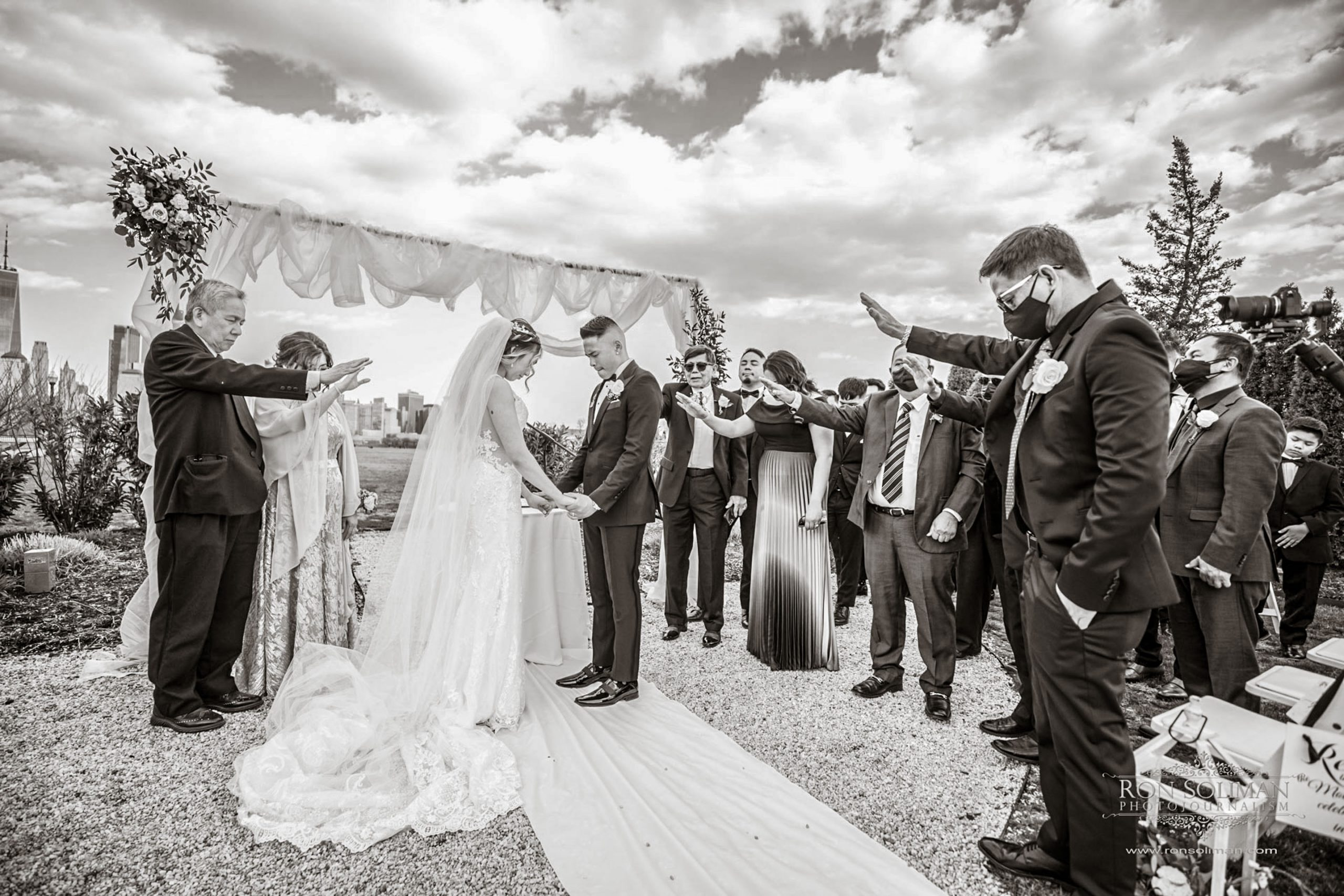 Hudson House Wedding | Ericah + RJ