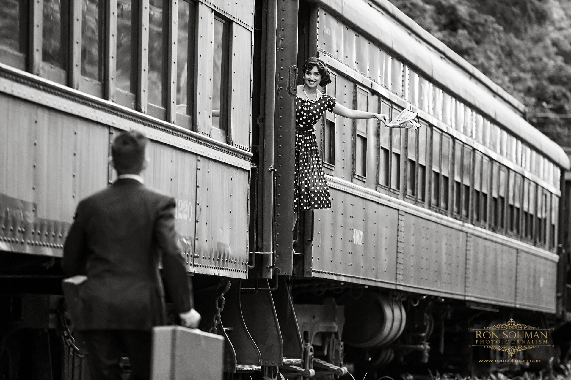 Best Vintage Inspired Engagement photos