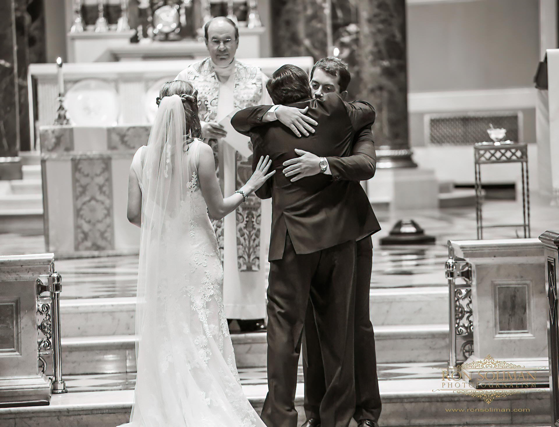 The Cathedral Basilica of Saints Peter and Paul wedding
