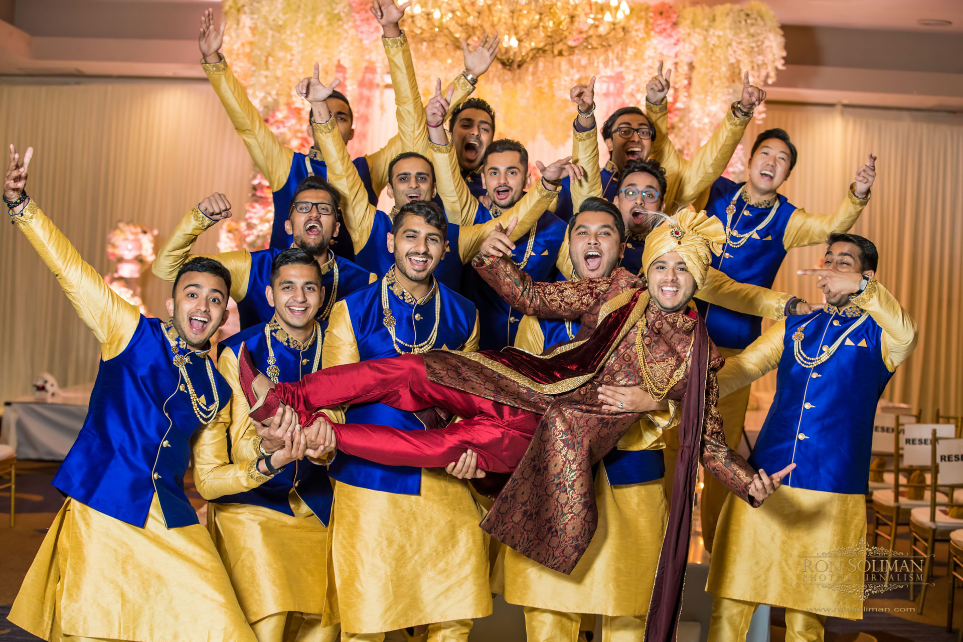 SHERATON PARSIPANNY WEDDING RM 11