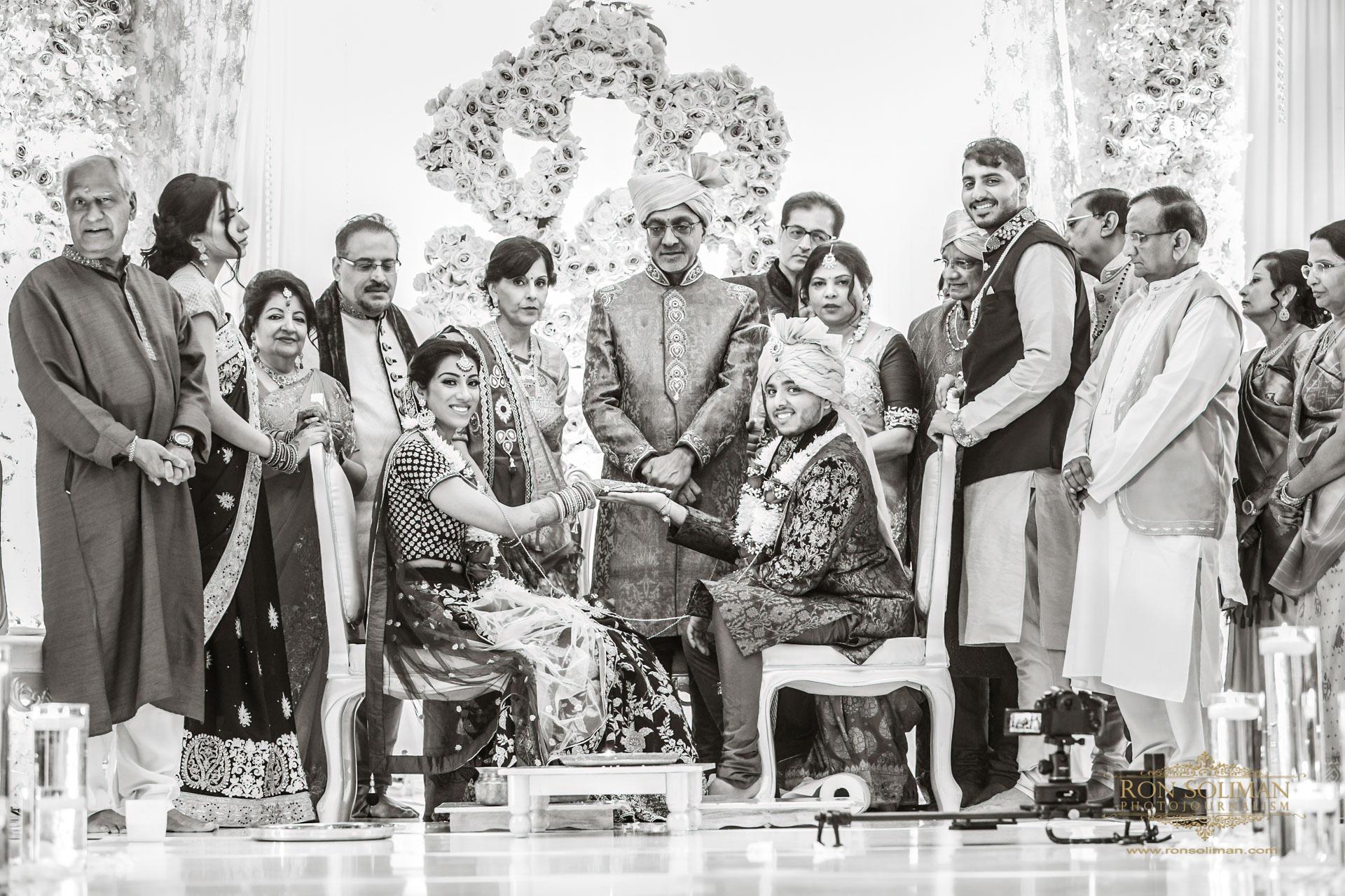 SHERATON PARSIPANNY WEDDING RM 17