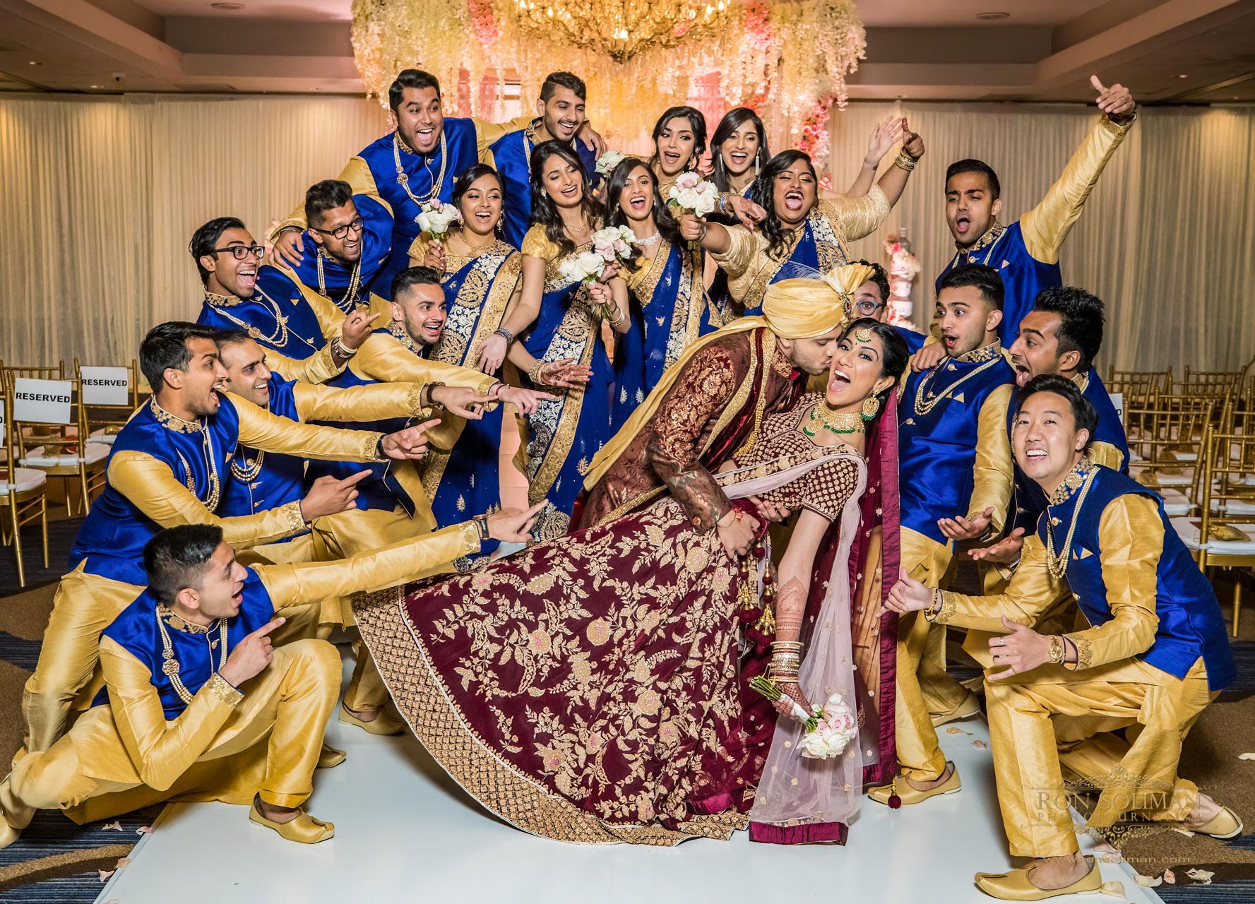 SHERATON PARSIPANNY WEDDING RM 8