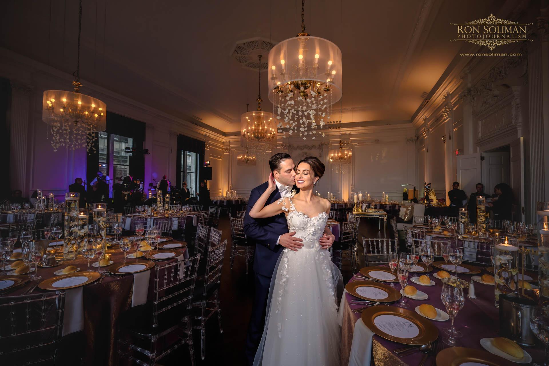 The Downtown Club Wedding | Aimee + Rob