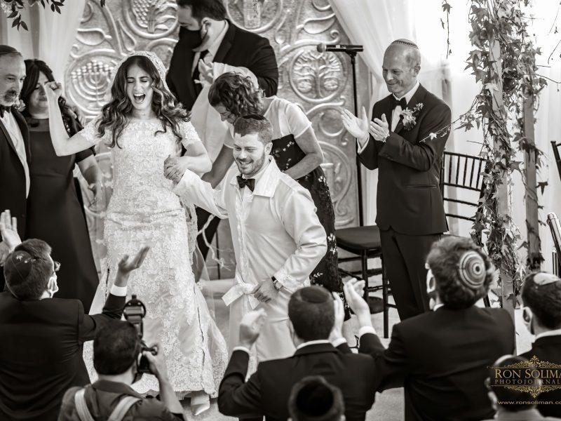 Zoe + Shimshon   Ohel Yaacob Orthodox Jewish Wedding