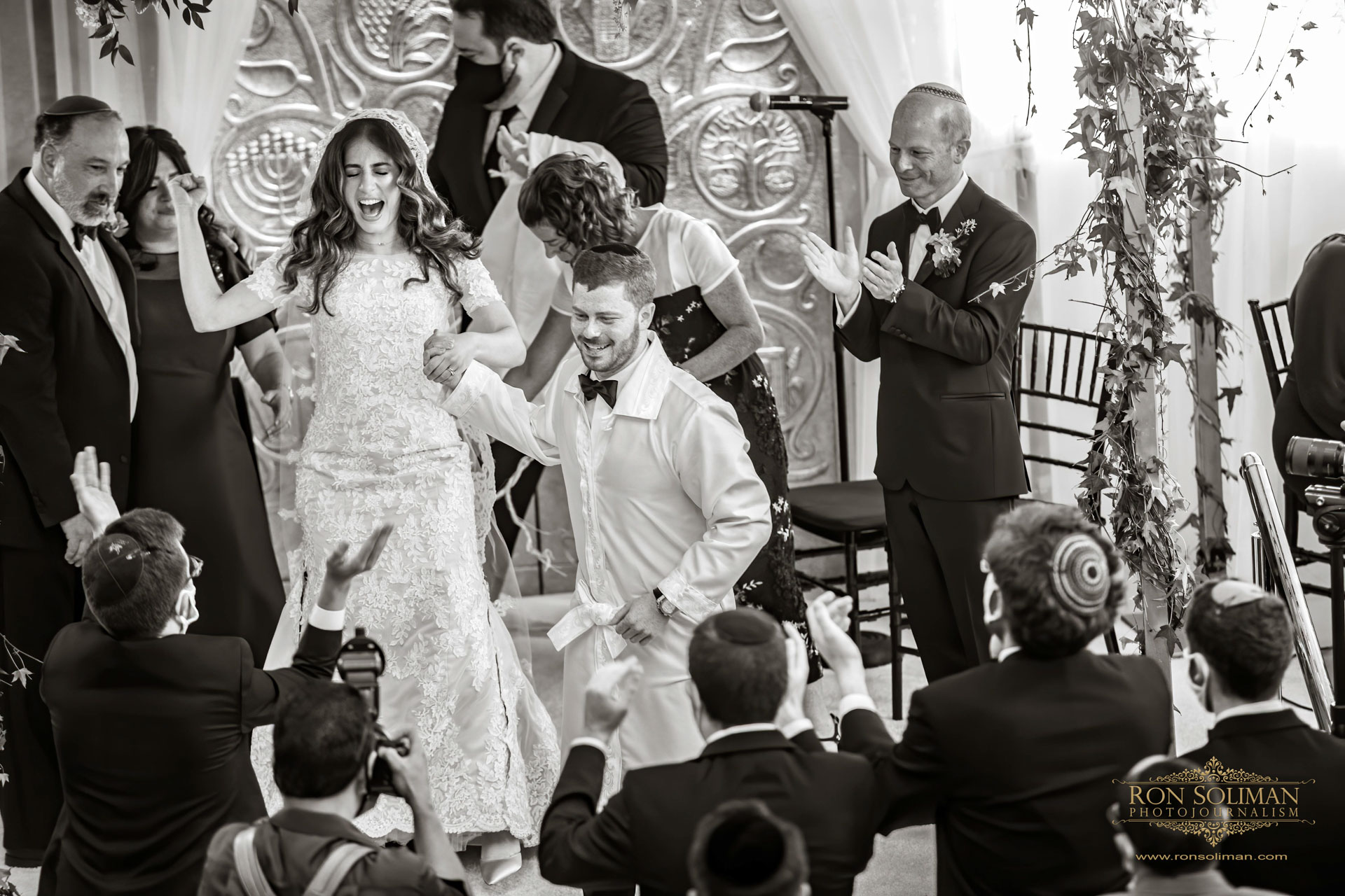 Zoe + Shimshon | Ohel Yaacob Orthodox Jewish Wedding